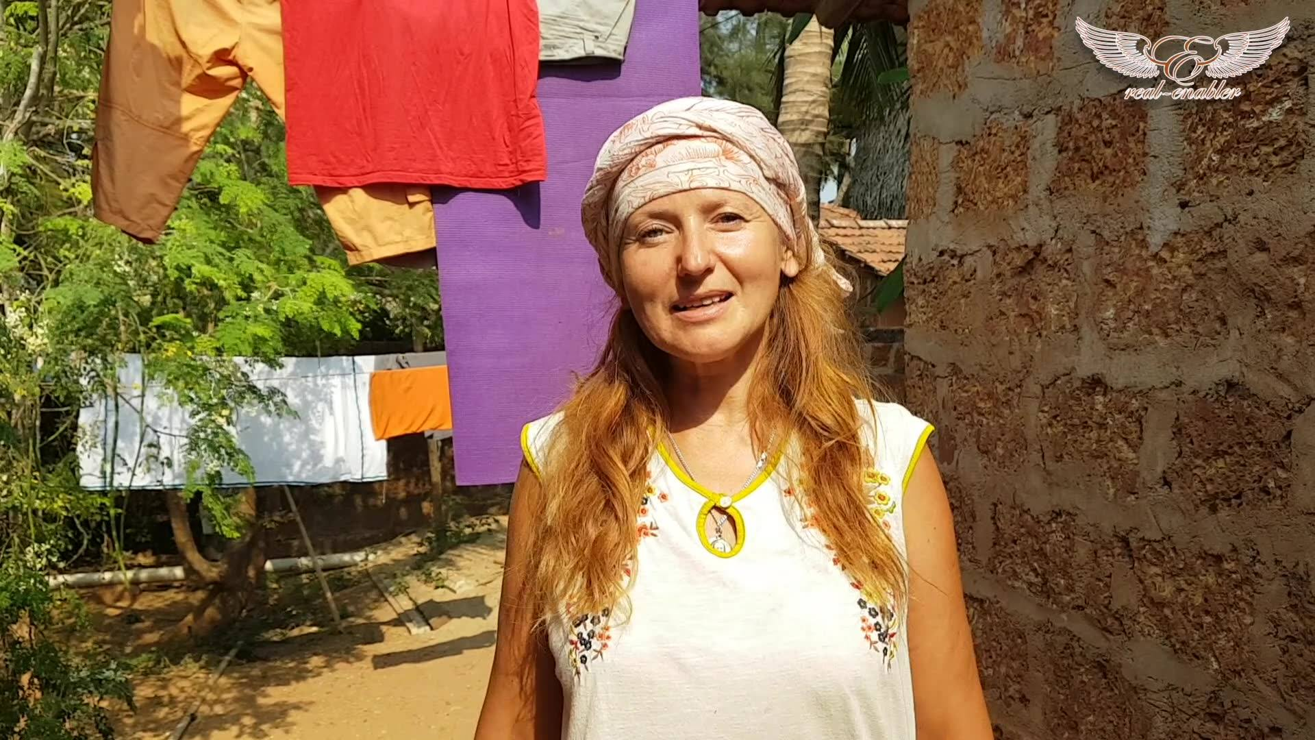 Yoga-teacher about Karen and Real-Enabler