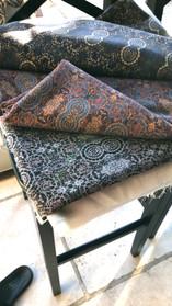 Digitally printed luxury men's and women's silk in the Intraben range by Rock Stone Silk
