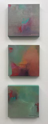 Soothing I, II &III_Triptych_12x12_Maggi