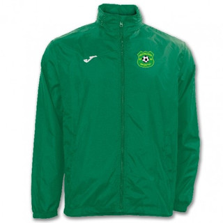 RAINJACKET GREEN WITH MUCKLAGH FC CREST