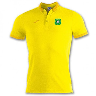BALI POLO SHIRT YELLOWS/S WITH MUCKLAGH FC CREST