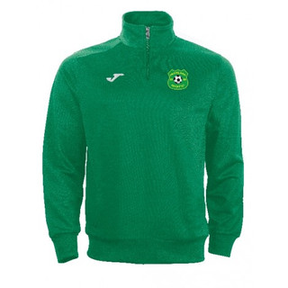 SWEATSHIRT COMBI GREEN WITH MUCKLAGH FC CREST