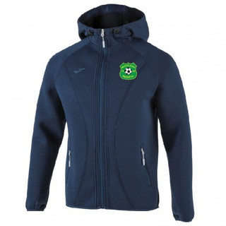 SOFTSHELL HOODIE BASILEA NAVY WITH MUCKLAGH CREST