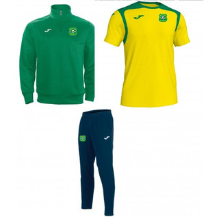 MUCKLAGH FC PACK 2 - 1/4 Zip,Contrast T-Shirt, Pants