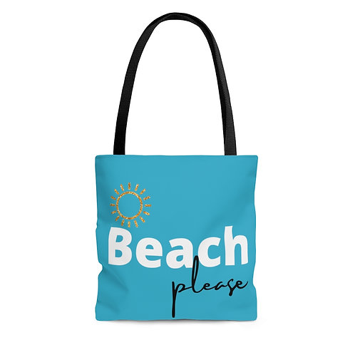 Beach Please Tote Bag Beach Bag - Vacation Tote Great Gift Travel Accessories
