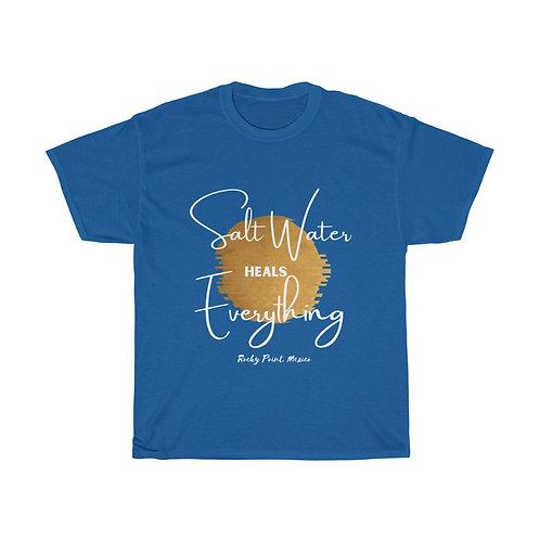 Salt Water Heals Everything |Beach Shirt |Vacation Shirt|Unisex Cotton Tee