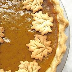 SEASONAL:     Pumpkin Pie