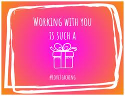 #LoveTeaching Gram_Gift