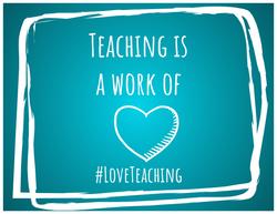 #LoveTeaching Gram_Heart2