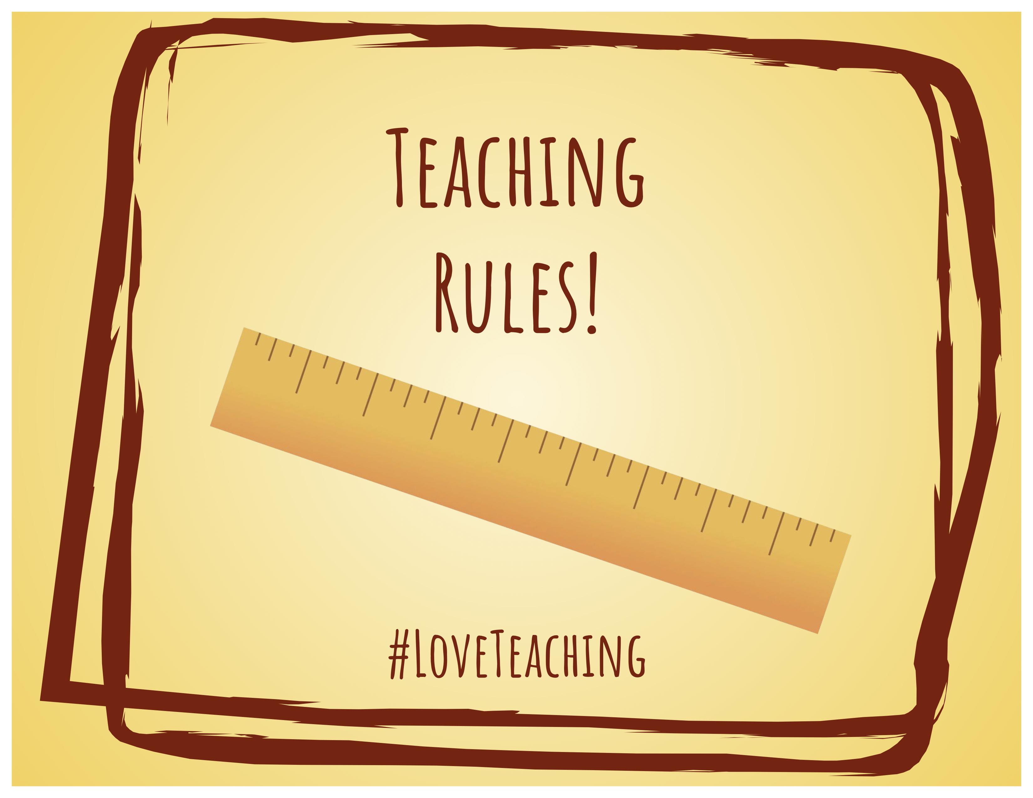 #LoveTeaching Gram_Rules