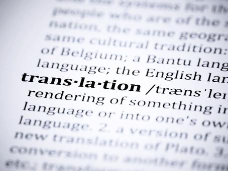 Traducción Escrita