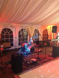 wedding band oxwich bay hotel