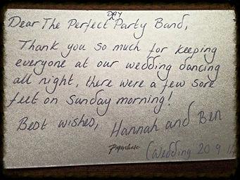 cheap wedding band south wales
