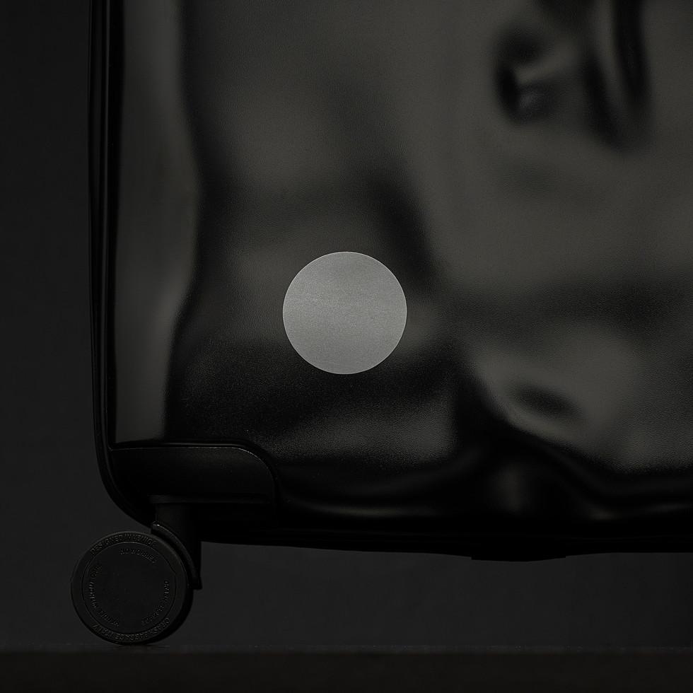 NIGHT SAVER_reflective sticker_suitcase
