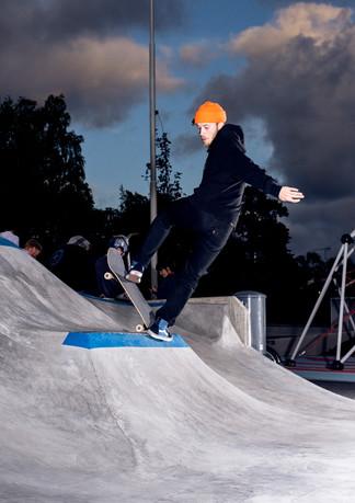 Fille Grandberg, backside blunt, Stockholm, Sweden