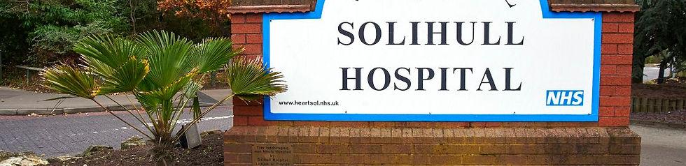 Trevor Larence Hip & Knee surgeon - NHS Solihull Hospital 1