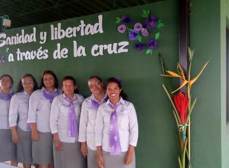 Ministerio de la Mujer realiza retiros espirituales de damas atendiendo las zonas de la Asocentral.