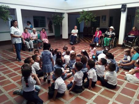 Los colegios de Asocentral en acción para Dios!