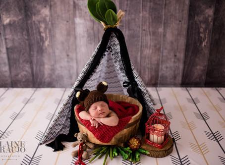 Ensaio Newborn Bernardo