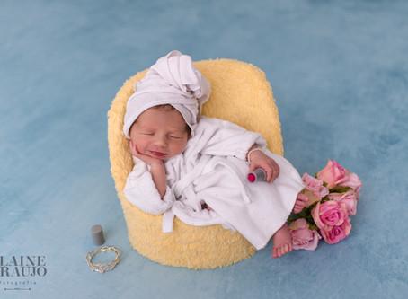 Ensaio Newborn Maria Flor