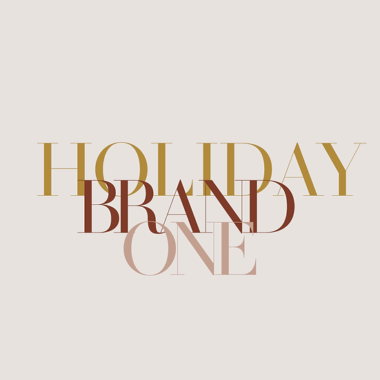 Holiday Brand #1 Package