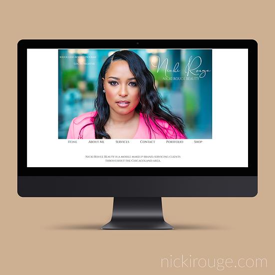 Portfolio or One Page Website