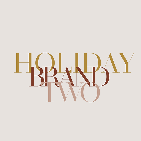 Holiday Brand #2 Package