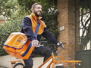 Nexive è risultato il primo operatore postale per numero di bici utilizzate in Italia.
