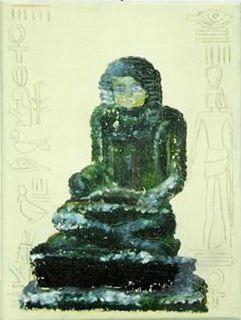 Hieroglief schrijver