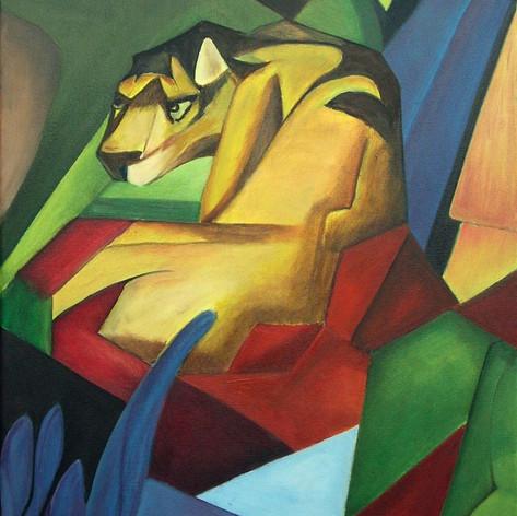 Tiger- naar Frans Marc