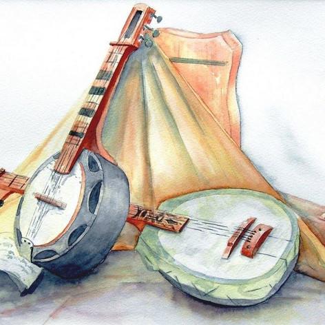 Banjo en balalaika