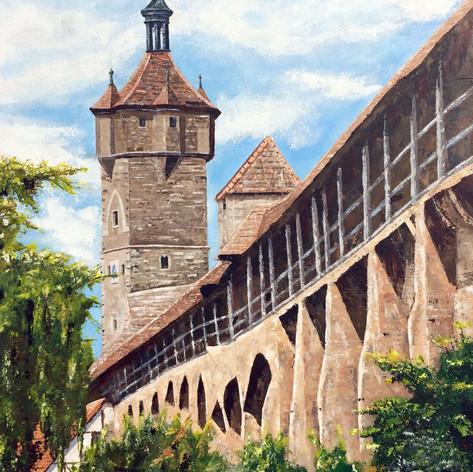 Klingentor  Rothenburg