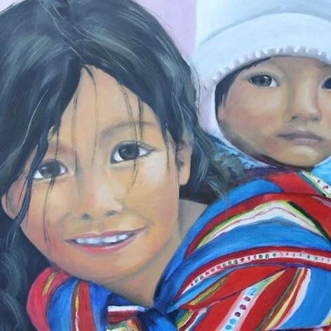 Boliviaanse kinderen