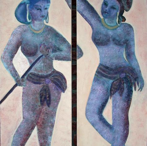 Egyptische meiden