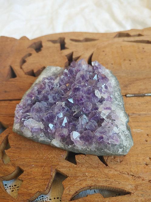 Natural amethyst piece