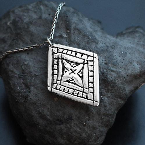 Diamond Pendant with Chain