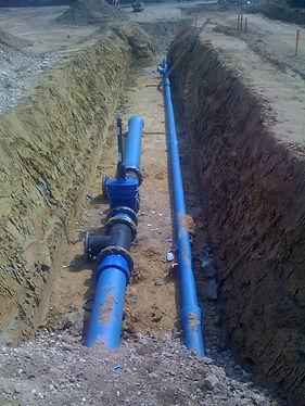 Rohrleitungsbau | Tiefbau | Wasserleitung | Fernwärme | Löschwasser