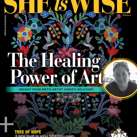 She Is Wise Magazine Explores Art as a Tool for Healing