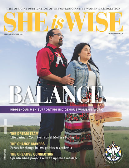 She Is Wise Magazine, edition 4 (Spring-Summer 2021) COVER.jpg
