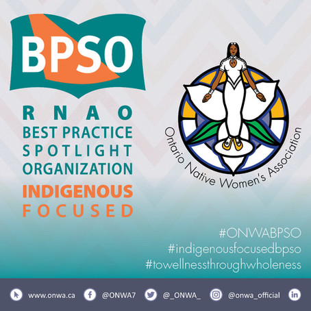 ONWA to become RNAO Best Practice Spotlight Organization
