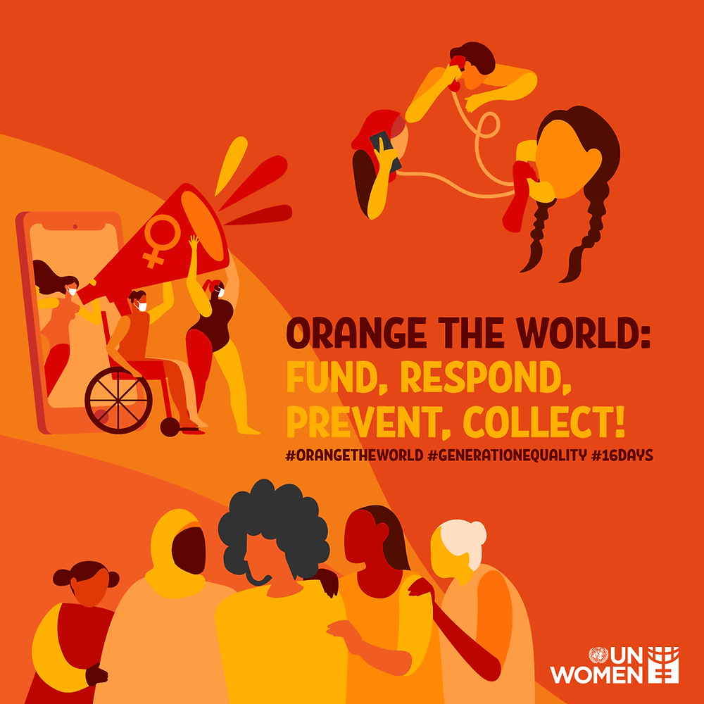Orange the World - Fund, Respond, Prevent, Collect!