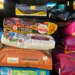 Heidi's Hope for Homeless Animals Pet Food Bank Delivers Donations to Carolina Beach Fire Victims