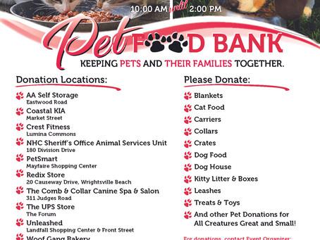 Pet Food Bank - Covid-19 Response
