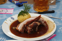 Bavarian Roast Pork and Dumplings