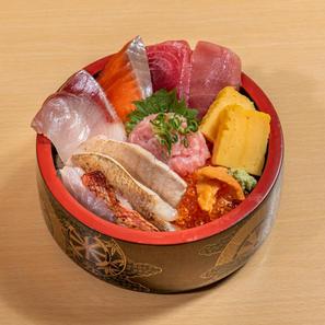 炙り三種盛り大漁丼
