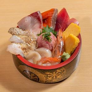 炙りのどぐろ盛り大漁丼