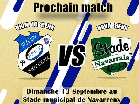 Match contre Navarrenx