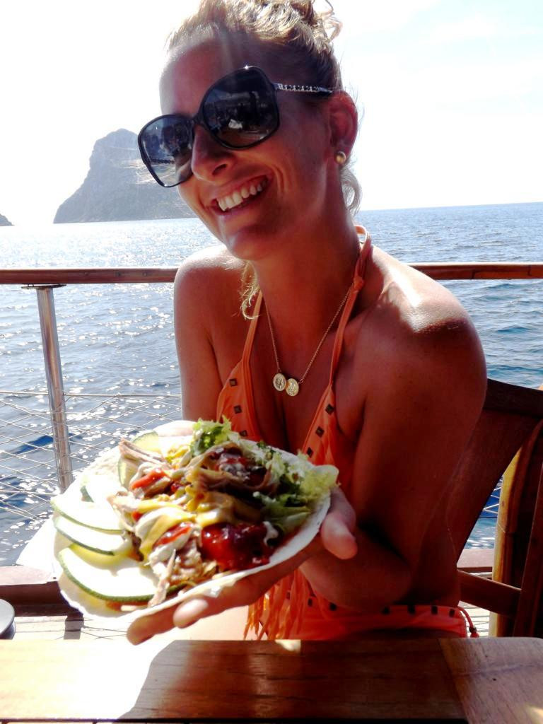 ibiza onboard catering