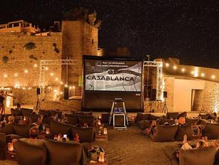 New in Ibiza ! The Flying Cinema - film & food