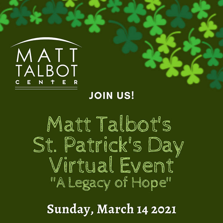 35TH ANNUAL ST. PATRICK'S DAY VIRTUAL EVENT